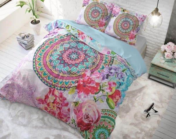 bavlnene obliecky farebna mandala